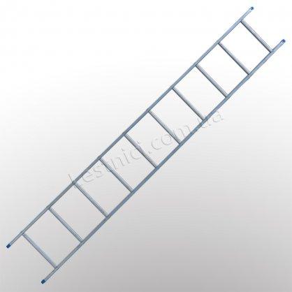 Лестница TUBESCA StarLine S+ приставная 1 × 10 (алюминиевая)