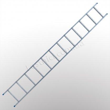 Лестница TUBESCA StarLine S+ приставная 1 × 12 (алюминиевая)