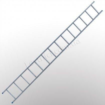 Лестница TUBESCA StarLine S+ приставная 1 × 14 (алюминиевая)