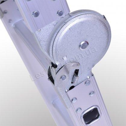 Лестница-трансформер профессиональная 3 × 4 (усиленная, алюминиевая)