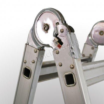 Лестница телескопическая ПРАКТИКА 3 × 4 (алюминиевая, универсальная)