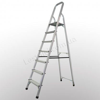 Стремянка ПРАКТИКА 7 ступеней (алюминиевая)