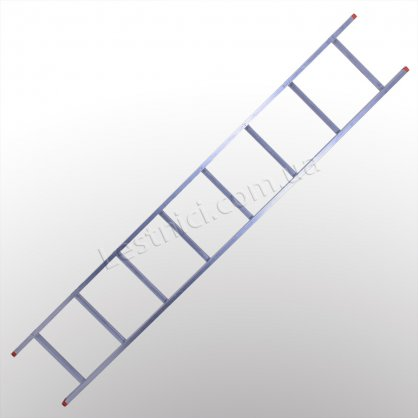 Лестница STS приставная 1 × 8 (алюминиевая)