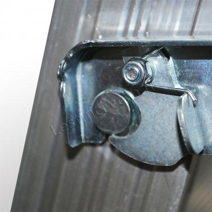 Драбина універсальна розкладна стрем'янка 2 × 5 (алюмінієва)