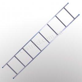 Лестница TUBESCA StarLine S+ приставная 1 × 8 (алюминиевая)