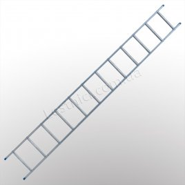 Драбина TUBESCA StarLine S+ приставна 1 × 12 (алюмінієва)