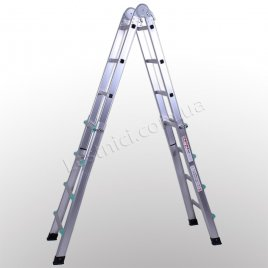 Драбина телескопічна ПРАКТИКА 4 × 4 (алюмінієва, універсальна)