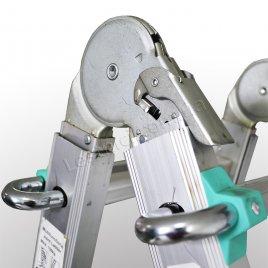 Драбина телескопічна ПРАКТИКА 5 × 4 (алюмінієва, універсальна)