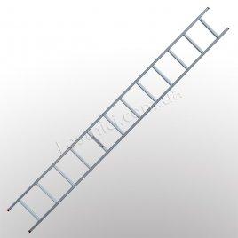 Драбина ПРАКТИКА приставна 1 × 12 (алюмінієва)