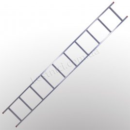 Лестница STS приставная 1 × 10 (алюминиевая)