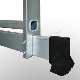 Лестница-подмости 2 × 6 (алюминиевая, универсальная)