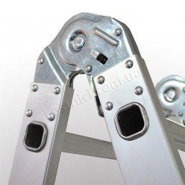 Лестница-трансформер ПРАКТИКА 4 × 4 (алюминиевая, универсальная)