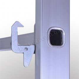 Драбина-риштування 2 × 8 (алюмінієва, універсальна)